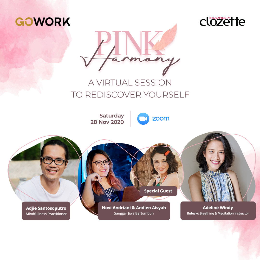 Pink Harmony: Virtual Session To Rediscover Yourself