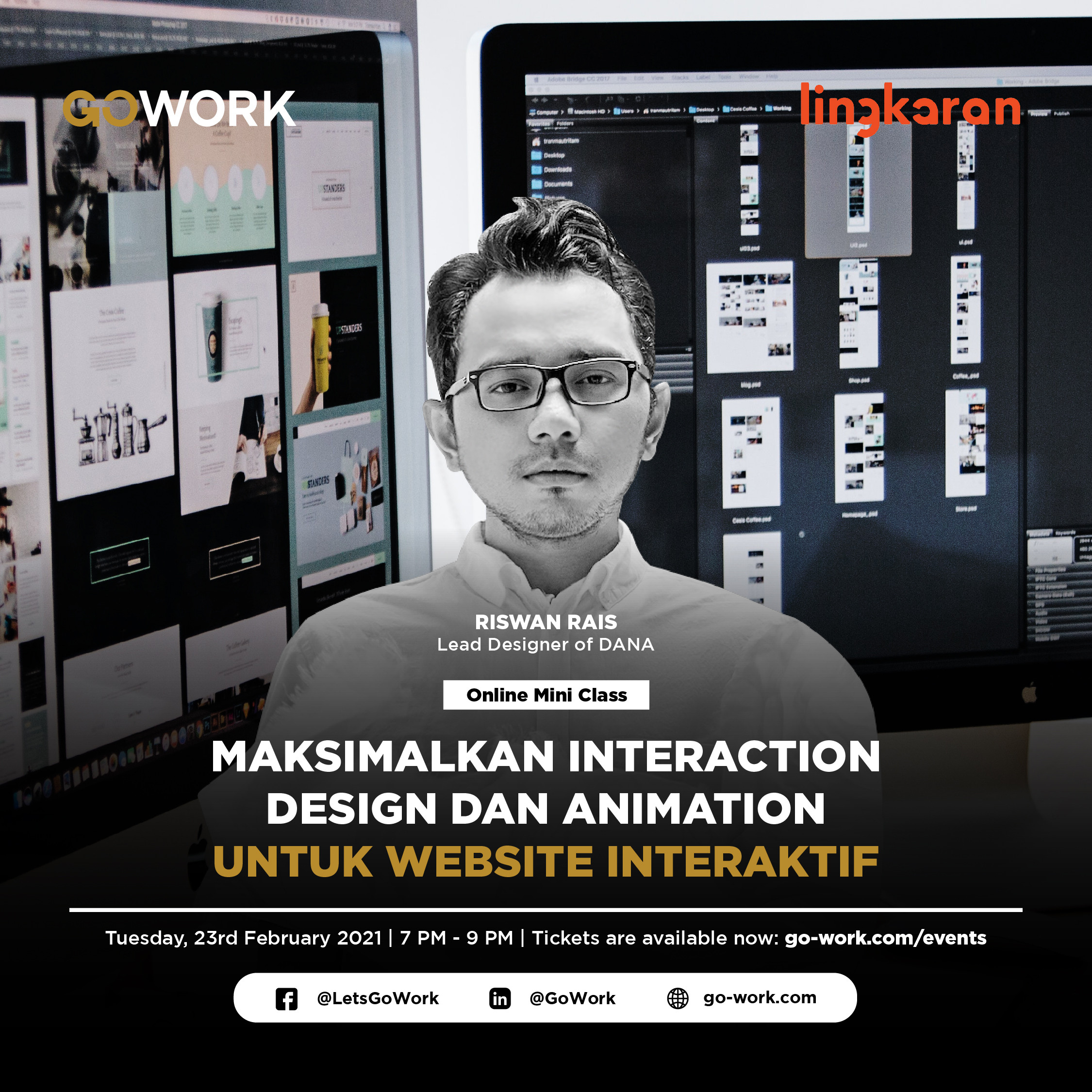 Maksimalkan Interaction Design & Animation untuk Website Interaktif