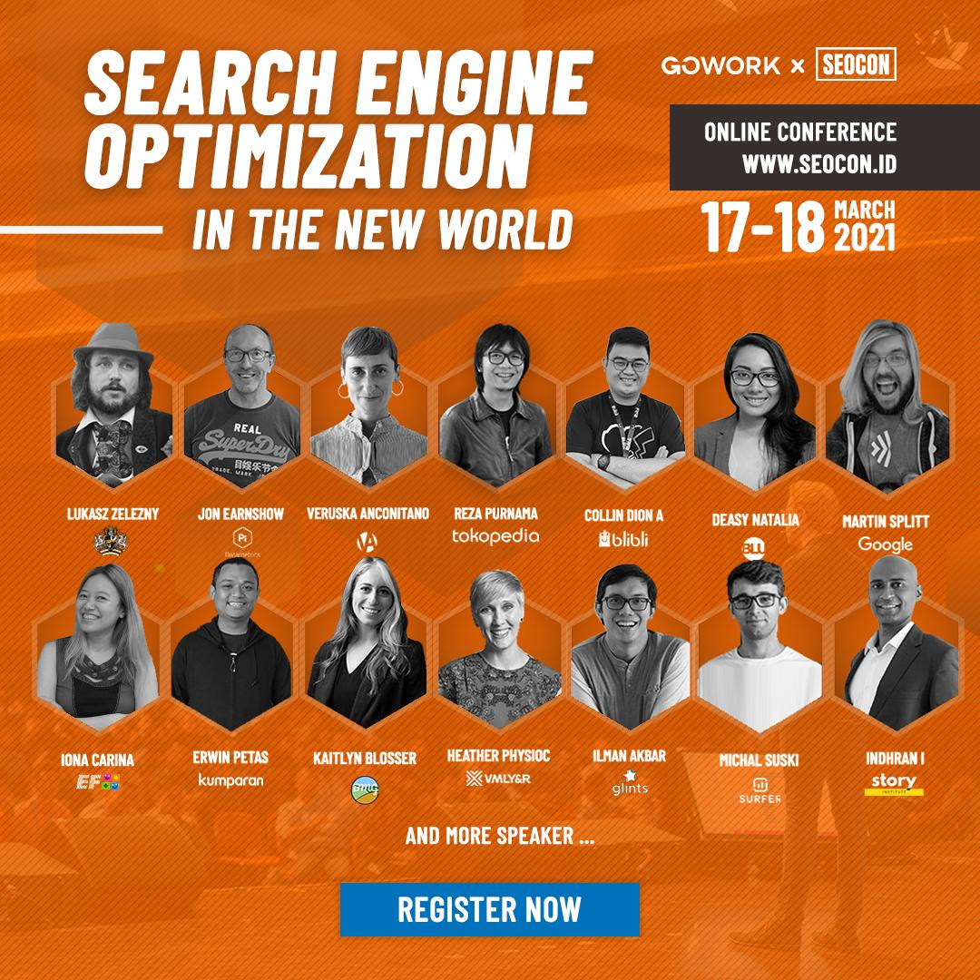 SEOCon 2021: Search Engine Optimization in The New World