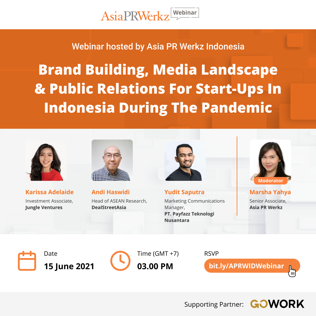 Brand Building, Media Landscape & Public Relations for Start-Ups in Indonesia during Pandemic