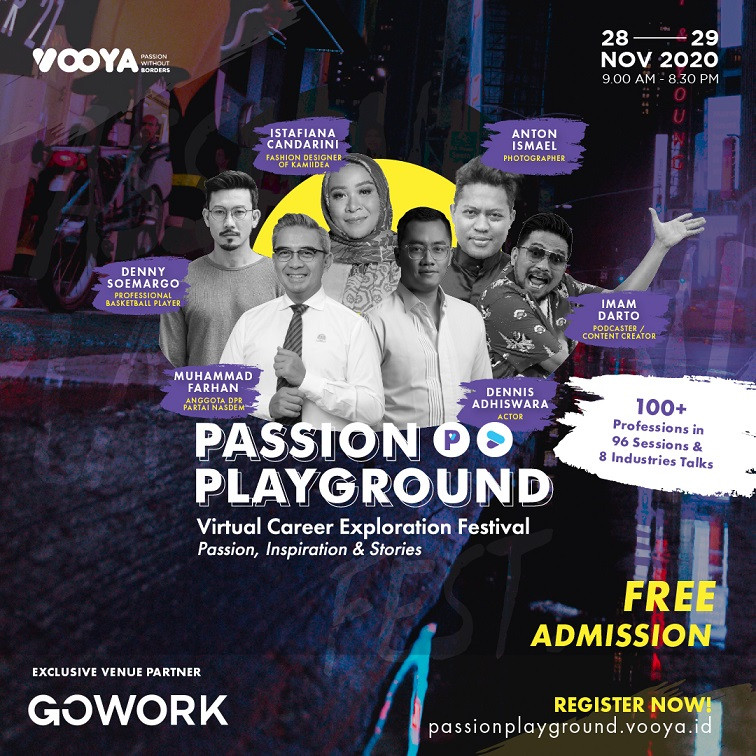 Passion Playground Festival: Virtual Career Exploration Festival
