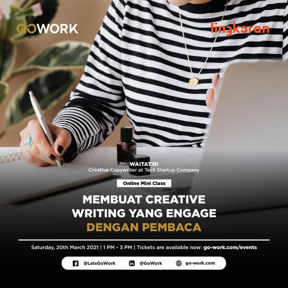 Membuat Creative Writing yang Engage dengan Pembaca